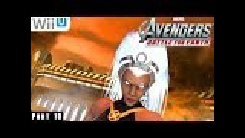 Marvel Avengers Battle for Earth - WiiU Gameplay 1080p part 10 (Hellicarrier Completed)