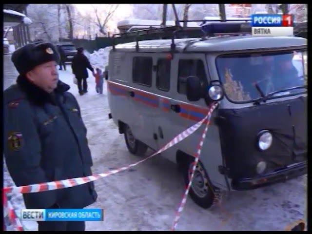 Восстановительные работы на месте обрушения крана в Кирове(ГТРК Вятка)