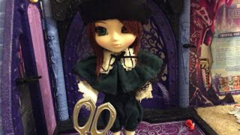 Pullip Rozen Maiden Souseiseki doll review (2006 Jun Planning) fourth doll
