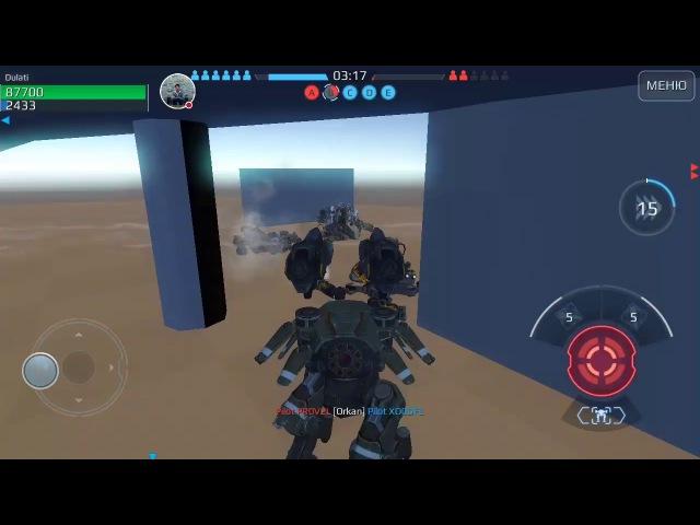 Стрим игры War Robots WR Test .