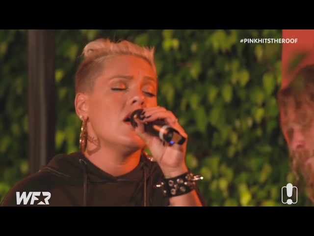 P!nk What About Us (Acoustic) LIVE at WFR 2017
