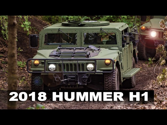 2018 HUMMER H1 - Production Of Legendary Humvee Machine Is Stronger Than Ever!