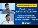 Хоккеисты Юрий Шпак и Кирилл Бондаренко. Веб-конференция на XSPORT