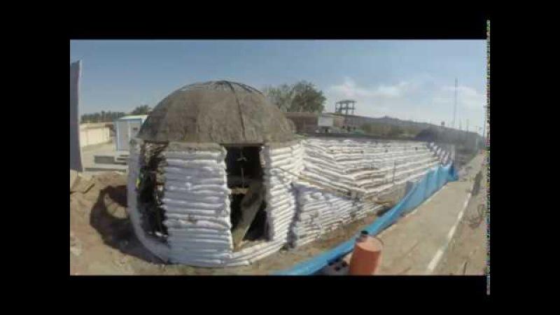 Rong Cultural Center Construction process