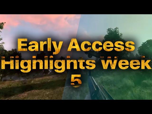 PLAYERUNKNOWN'S BATTLEGROUNDS - Early Access Highlights Week 5 | PUBG OMG