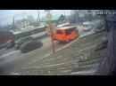 В Башкирии троллейбус попал в ДТП – его пассажир пролетел через весь салон