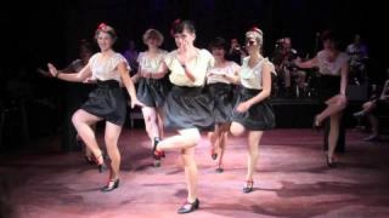 The Ultimate Lindy Hop Showdown 2014 - Chorus Girl Choreography Challenge - The Flower City Follies