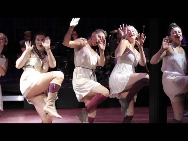 The Ultimate Lindy Hop Showdown 2014 - Chorus Girl Choreography Challenge - The Hot Britches