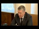 Валерий Хорев доложил губернатору о Пятилетке развития
