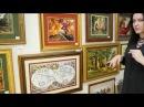 Часть 2 Выставка Шедевры рукоделия лучшие из лучших оформленные вышитые картины