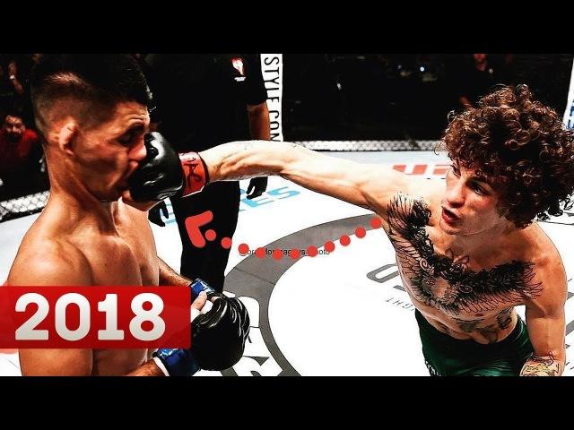 НОВЫЙ МОНСТР В UFC! ШОН САХАР ОМЭЛЛИ - ЛУЧШИЕ МОМЕНТЫ 2018
