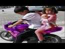 THE MOST coolest kid ride on motorcycle - BEST COMPILATION 2017