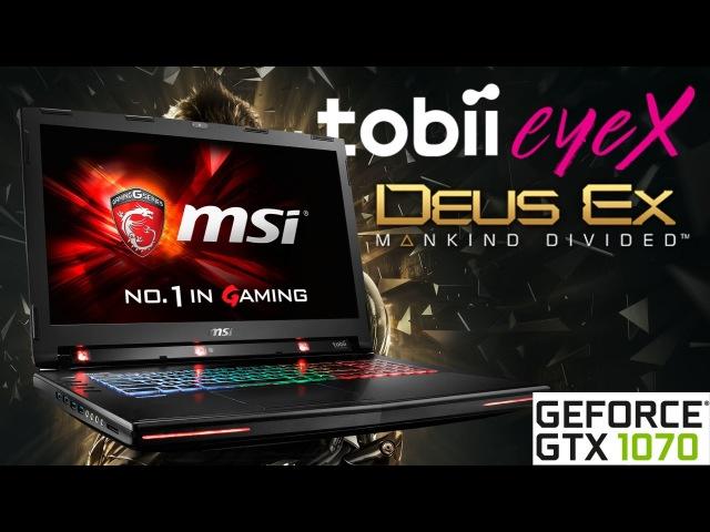 Видео обзор ноутбука MSI GT72VR 6RE-028RU Dominator Pro Tobii