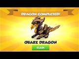 I Got Quake Dragon + Knight dragon ,gameplay , Dragon Mania Legends -part 618