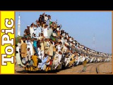 Самые загруженные железные дороги Индии и Бангладеш