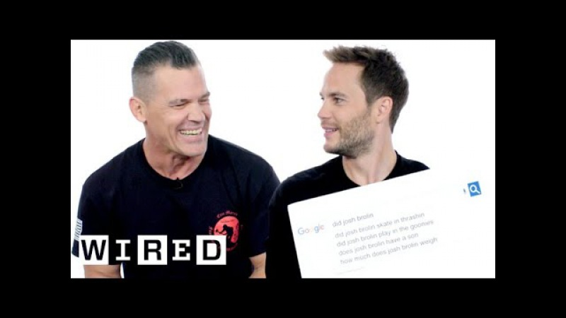 Josh Brolin Taylor Kitsch Answer the Web's Most Searched Questions | WIRED