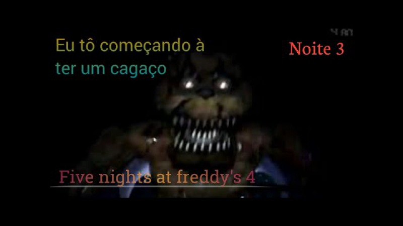 Fnaf 4 Android (noite 3)