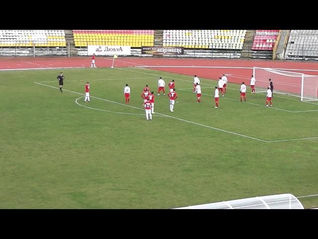 ПФЛ 2017/18. 22 тур. Спартак-Вл. – Спартак-Нч. 0-1