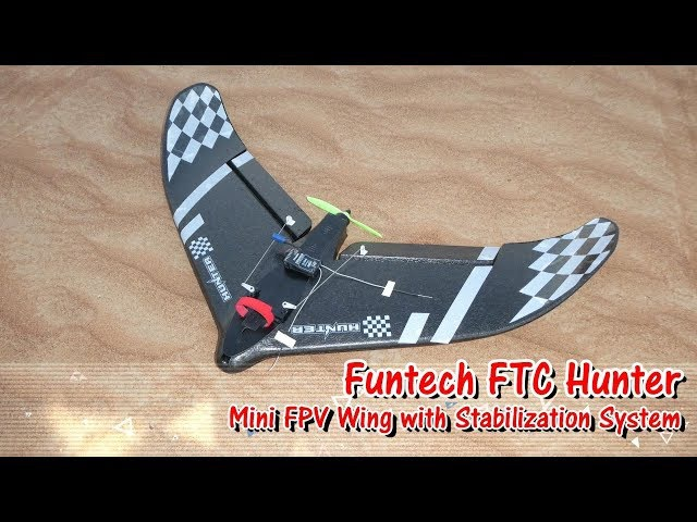FTC HUNTER 680mm Wingspan EPP Delta Wing FPV Racer RC Airplane PNP