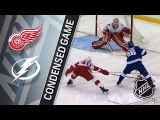 Detroit Red Wings vs Tampa Bay Lightning Feb. 15, 2018 Game Highlights NHL 201718. Обзор