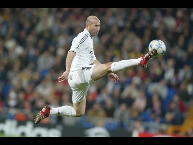 The Ball Control Masters (Ozil, Bergkamp, Ronaldinho and Zidane)