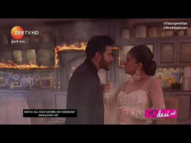 Прита все ругала Карана, но в итоге поняла, что он все сделал ради её спасения и осознала, что он хороший❤️
