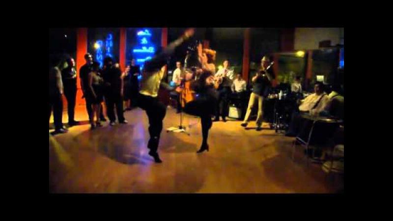 Max Pitruzzella Annie Trudeau Chicago Dance Improvisation 2011