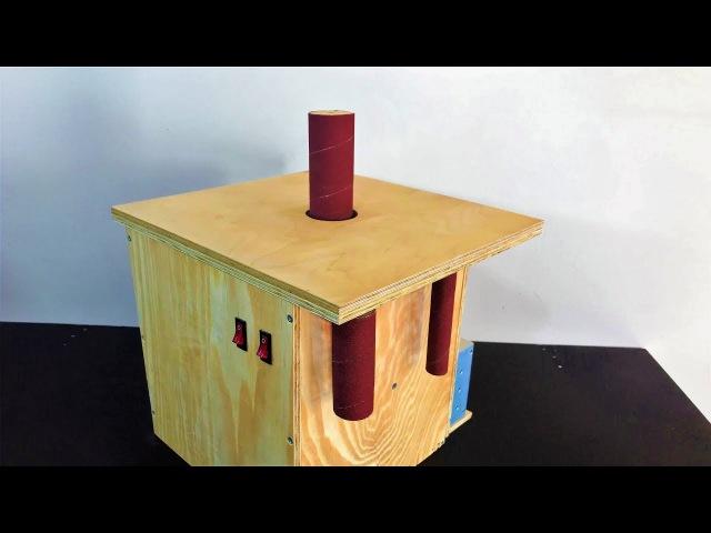 Building the Oscillating Spindle Sander Salınımlı Rulo Zımpara Makinası