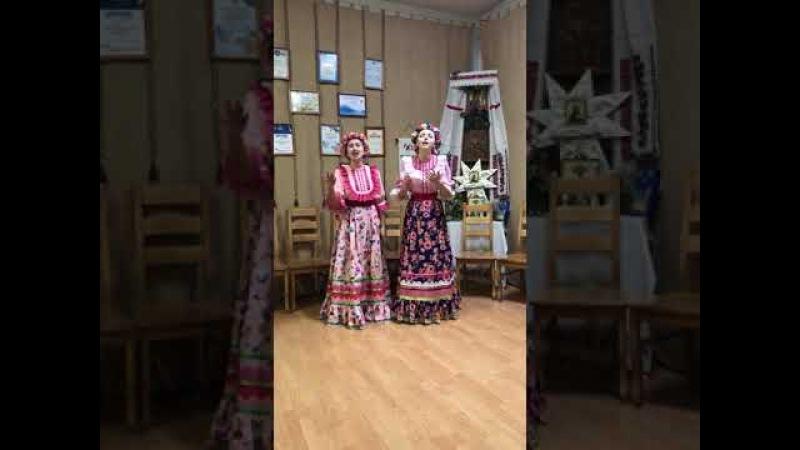 Дуэт Житлова и Динаева Среди долины ровныя