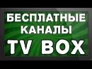 Бесплатные онлайн каналы для ТВ Приставки Android