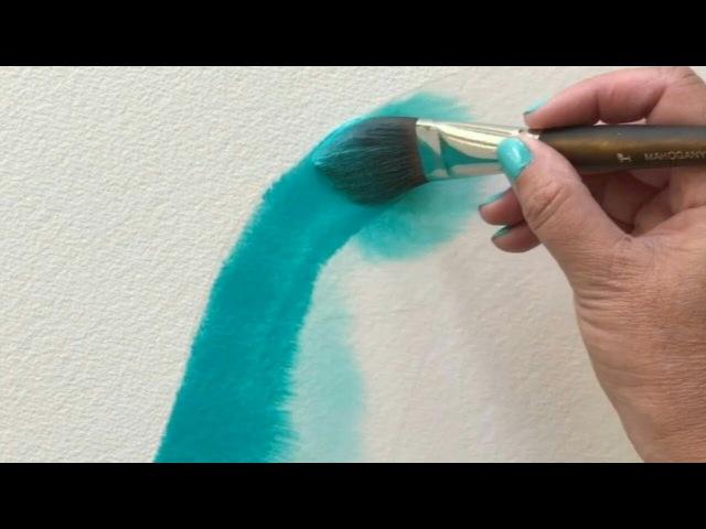 Рисование акварелью и маркером рисуем удивительные рисунки