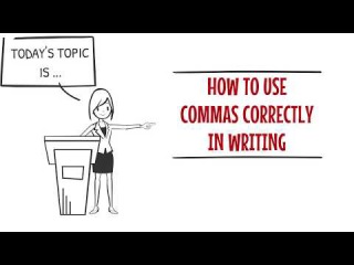 how to use commas in writing Do you know how to use commas in this lesson, you'll learn simple rules for using commas with coordinating conjunctions coordinating conjunctions connect t.