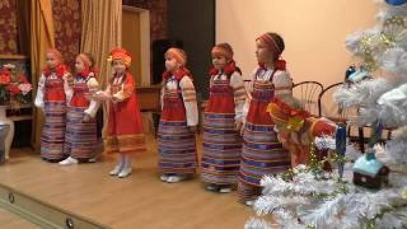 Программа Рождественские колядки младшей группы Веретено