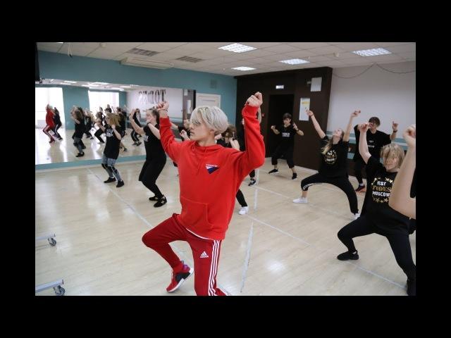 Ильдар Гайнутдинов, мастер-класс солиста театра танца TODES в Калуге, 11.02.2018