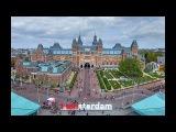 Нереальный Амстердам с высоты, Нидерланды. Лучший видео обзор, новинка. (4K)