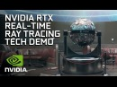 NVIDIA RTX Real Time Ray Tracing Tech Demo From Remedy Entertainment