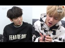 [BANGTAN BOMB] VJungkook Singing at standby time - BTS (방탄소년단)