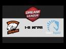 VP vs Liquid 1 bo3 DreamLeague 8, 01.12.17