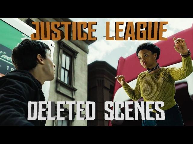 FULL DELETED SCENES 'JUSTICE LEAGUE' Iris West, Superman...