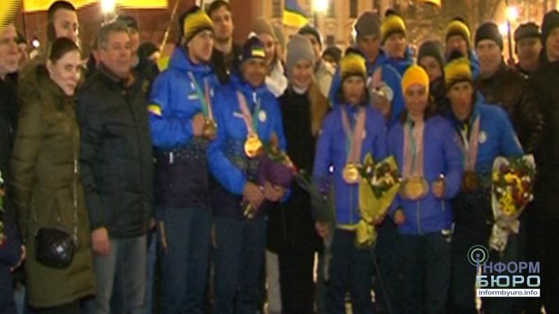 Харківщина зустріла паралімпійців