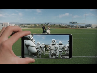 Google Pixel 2 ¦ The Last Jedi AR Stickers