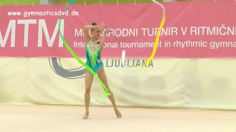 Julia Ecvhik - Ribbon Final - MTM Ljubljana Tournament 2018