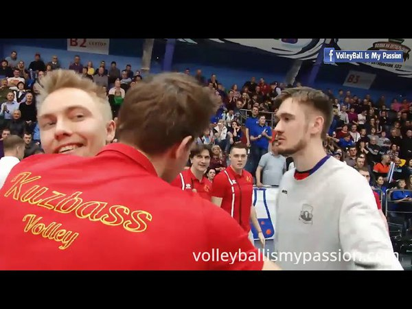 SF-R2 | Kuzbass vs Zenit-Kazan | 06-04-2018 | Russia Superliga Men Volleyball 2017/2018
