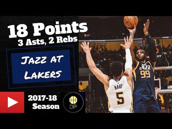 Jae Crowder at Lakers 4/8/18 | 18 Pts, 3 Asts, 2 Rebs