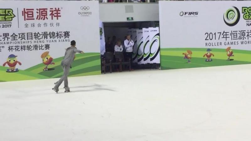 Rebecca Tarlazzi и Luca Lucaroni (Италия), золото - WRG 2017