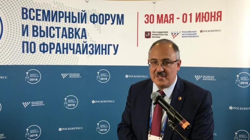 Сурен Варданян, вице-президент Московской торгово-промышленной палаты