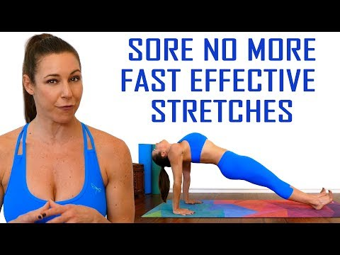 Sore No More   Stretch with Dani! Total Body Flexibility, Pain Relief, Ab Stretches, 20 Minutes