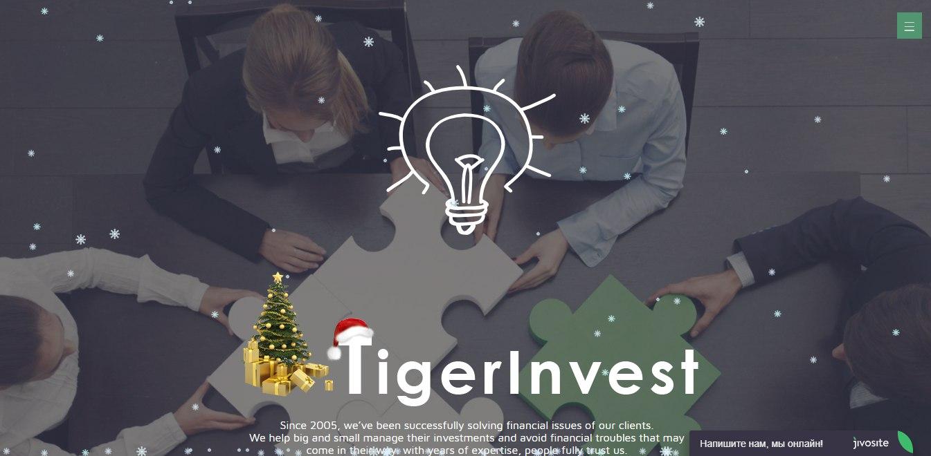 Постер к новости Tiger Invest