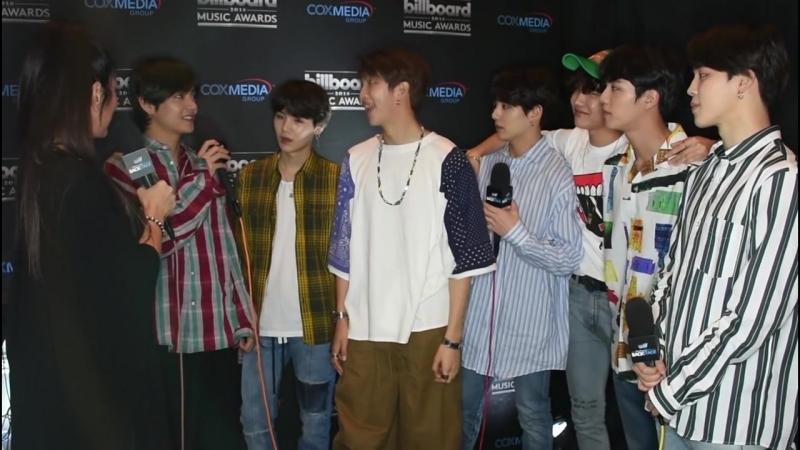BTS TALKS MUSIC NEW SONG ¦ BILLBOARD MUSIC AWARDS