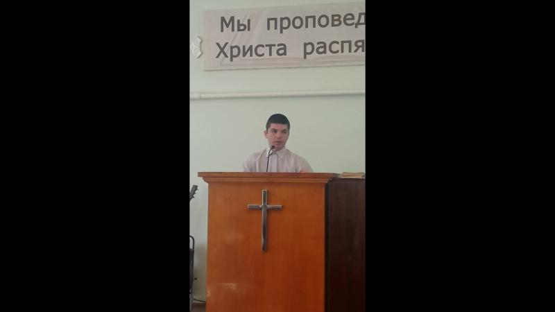 проповедь бр. Евгения - воскрешение Лазаря